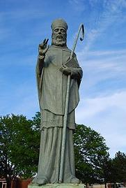 Statue of Saint Malachy - Archbishop of Armagh