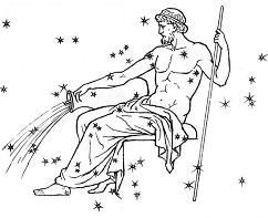 zodiac sign aquarius the water bearer