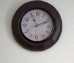 Wall clock showing hands on the time 11:11