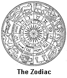 the zodiac wheel>